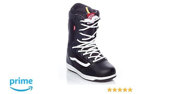 1f3e1fa2a6 Amazon.com   Vans Black-White-Red Mantra Snowboard Boots (Us 7 ...