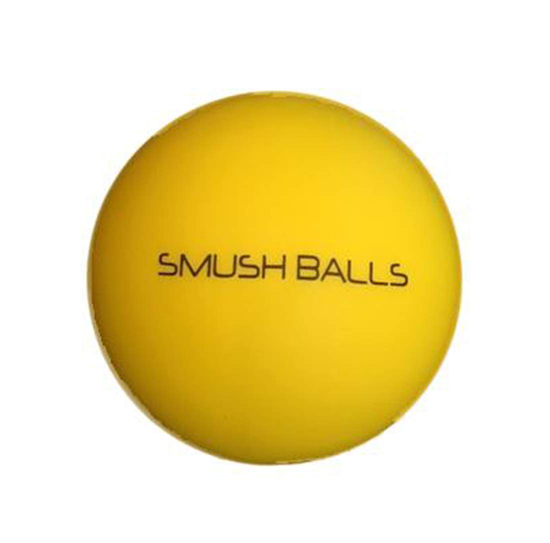 Smushballs- *YELLOW* The Ultimate ''Anywhere'' Batting Practice Baseball/Softball (24) by Smushballs
