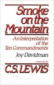 Book Smoke on the Mountain: An Interpretation of the Ten Commandments