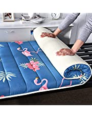 Golvmadrass futon madrass golvmatta, kudde madrassdyna, halkfri sovkudde hopfällbar säng madrass madrass dyna barn golv solstol säng soffor och sofforStil 1-90 x 200 cm (35,4 x 78,7 tum)