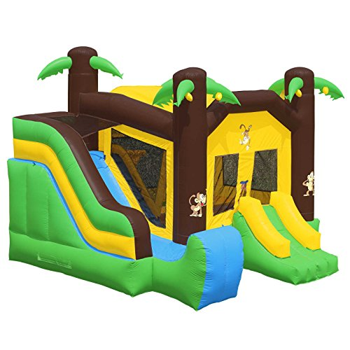 Inflatable HQ Commercial Grade PVC Jungle Slide Inflatable Bounce House