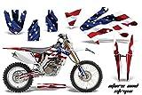 Honda CRF250X 2004-2016 MX Dirt Bike Graphic Kit Sticker Decals CRF 250 X STARS & STRIPES