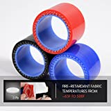 Turbo Intercooler Silicone Hose Piping Kit Clamps
