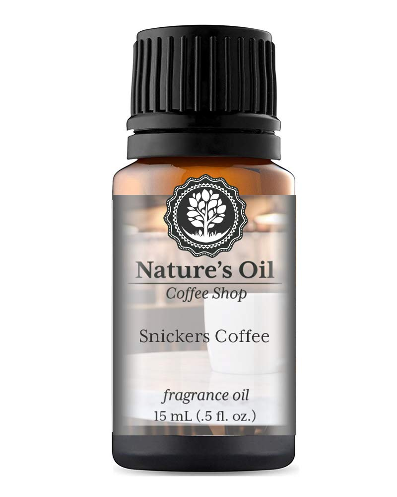 Snickers Coffee Fragrance Oil (15ml) For Diffusers, Soap Making, Candles, Lotion, Home Scents, Linen Spray, Bath Bombs, Slime