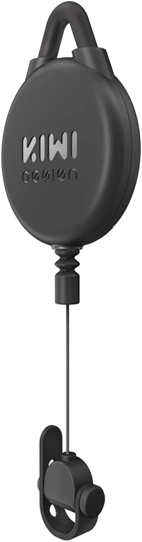 KIWI design Gestión de Cable VR, 1 Pack Sistema de Suspensión VR para HTC Vive/Pro/Oculus Rift/Oculus Rift S/Sony Playstation VR/Microsoft MR/Samsung Odyssey Accessori VR(Negra)