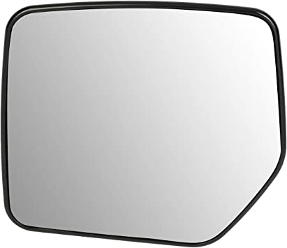 Mirror Glass For 07-17 Jeep Compass Passenger Side Replacement