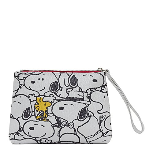 (Peanuts I Love It Wristlet for Girls One Size)