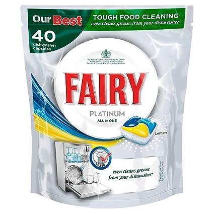 Fairy Platinum All in One - Pastillas para lavavajillas ...
