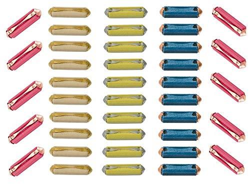 40-piece Ceramic Torpedo/Bullet Fuse Kit for Audi Mercedes VW Saab Porsche BMW