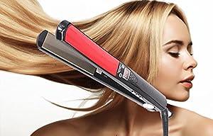 Professionelle digitale Nano-Titan Haarglätter Einstellbare 50-245 ℃ Turmalin...