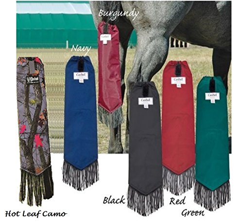 Cashel Neoprene Tail Bag for Horses, Color Choice: Black, Navy, Burgundy, Green, Red or Hot Leaf - Neoprene Tail Wrap