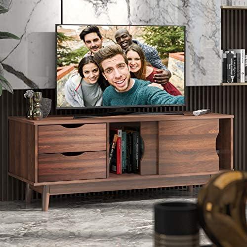 Tangkula Modern TV Stand