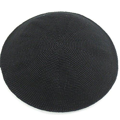 Klipped Kippahs Knit (small, black)