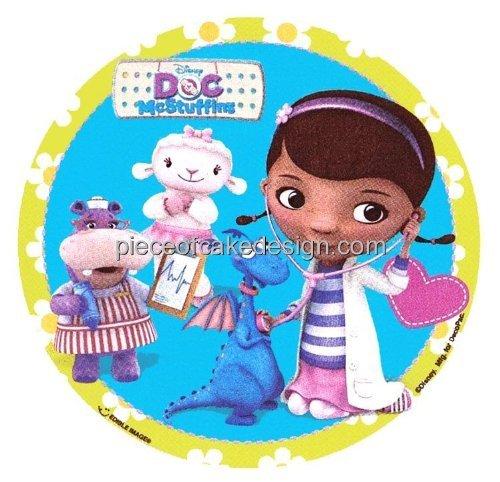 "3"" ~ Doc McStuffins Birthday ~ Edible Image Cake/Cupcake ..."