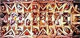 : Sistine Chapel, M. A. Buonarroti (3000 pc panoramic puzzle)