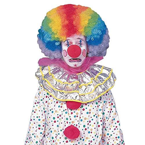 Forum Novelties Men's Jumbo Rainbow Clown Costume Wig,