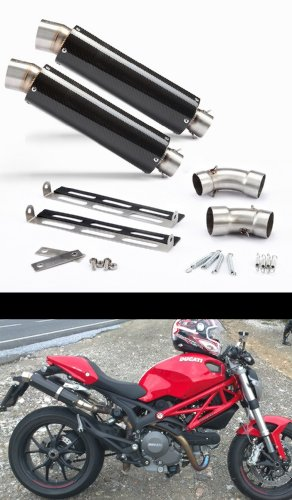 Ducati 696/796/1100 Carbon GP Exhaust