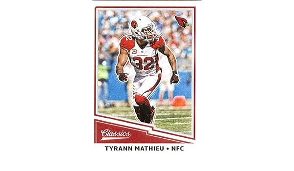 dc38946d9 Amazon.com  Football NFL 2017 Panini Classics  94 Tyrann Mathieu Cardinals   Collectibles   Fine Art