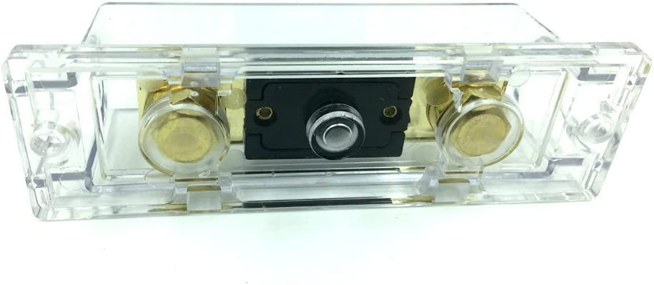 Woljay ANL-400A ANL Fuses 400Amp Gold Plated with Fuse holder