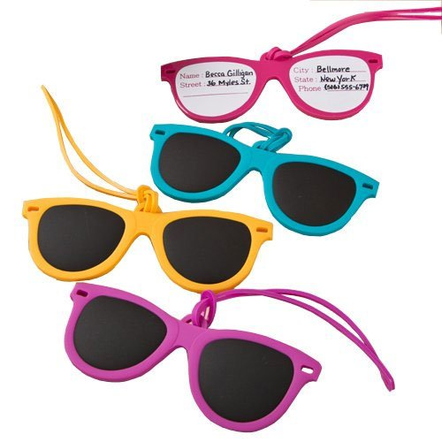 Fun Sunglass Luggage Tags Sunglasses