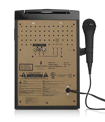 Singing Machine Sml385btbk Karaoke System With Led Disco