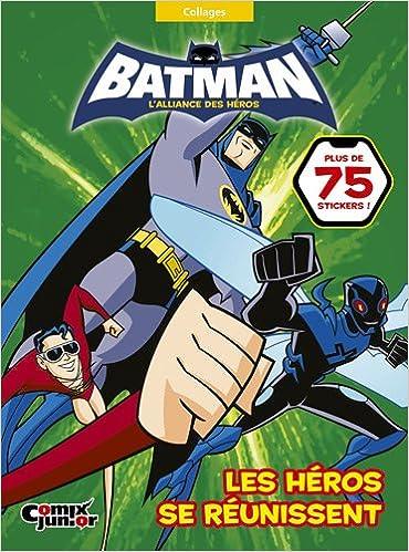 Télécharger en ligne Batman, l'alliance des héros : Les héros se mobilisent : Collages pdf ebook
