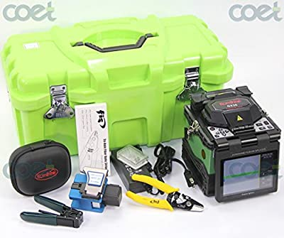 Handheld Fiber Optic Fusion Splicer KOMSHINE GX36 Core to Core Aliginment with 6 Languages