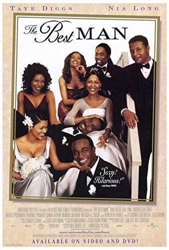 Taye Diggs Poster (The Best Man Poster 27x40 Taye Diggs Monica Calhoun Morris Chestnut)