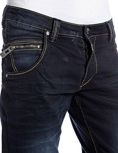 para Hombre Shadow Ink Azul Timezone Wash Haroldtz Jeans qPATE
