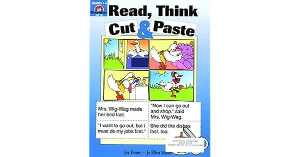 Read, Think, Cut & Paste