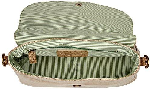 Timberland TB0M5387, Borsa a Spalla Donna Beige (Croissant)