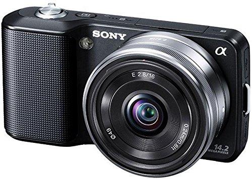 ソニー SONY デジタル一眼α NEX-3 薄型広角レンズキット ホワイト NEX-3A/W   B003LV0J5Q
