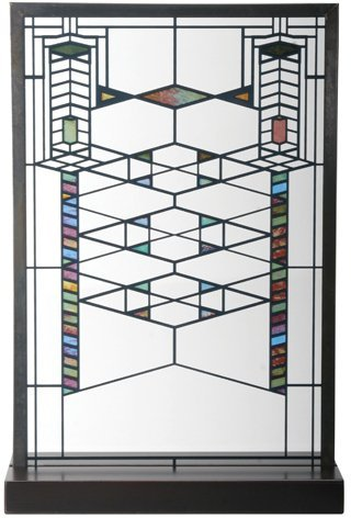 (Frank Lloyd Wright Robie House Stained Glass)
