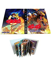 Trading Card Album Compatible with Pokemon Cards, Pokémon Card Holders, TCG Support Binder Trading Card Games, Holds 240 Cards