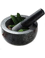 Mortier & Pilon Premium en Granit Noir Ø 16cm de Joywell