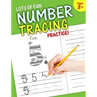 Image for Lots of Fun Number Tracing Practice!: Learn numbers 0 to 20!