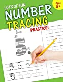 number tracing workbooks - Lots of Fun Number Tracing Practice!: Learn numbers 0 to 20!