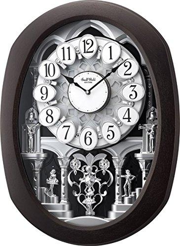 Rhythm Clocks Encore Espresso Magic Motion Clock