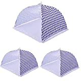 Food Covers Tent,AIYoo Pop-Up Mesh Food Covers Food Dome Net Umbrella for Outdoors, Screen Tents Protectors For Flies ,Bugs, Parties Picnics, BBQs, Reusable and Collapsible