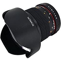 Rokinon FE14M-C 14mm F2.8 Ultra Wide Lens (Black) - Fixed
