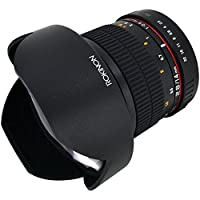 Rokinon FE14M-C 14mm F2.8 Ultra Wide Lens for Canon (Black)
