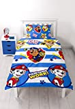Paw Patrol Pawsome Single Duvet Set - Repeat Print Design