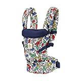 Ergobaby Adapt Award Winning Ergonomic Multi-Position Baby Carrier, Newborn to Toddler, Special Edition Keith Haring, Color Pop