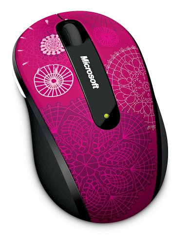Microsoft Wireless Laser 4000 - Microsoft Wireless Mobile Mouse 4000 Studio Series - Pirouette