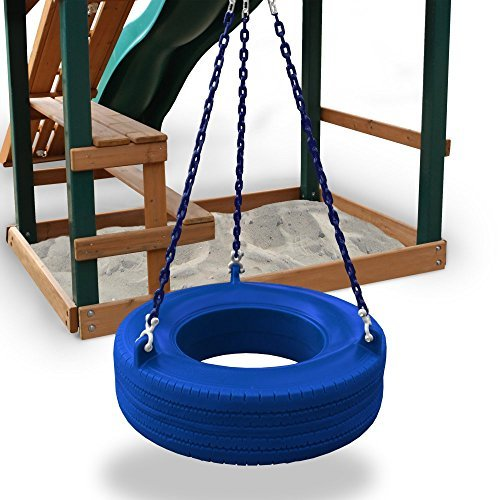 - Commercial Grade Tire Swing Color: Blue