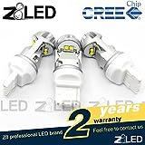 Z8 2pcs Nordic Light T20 7440 W21w Auto LED Bulb 20w Cool Hypothermia 6000k 320° Aluminum Cree Chip Brand New Signal Tail Back-up Light,brake Light Car Light Z8led White