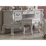 Acme Furniture ACME Dresden Antique White Vanity Desk