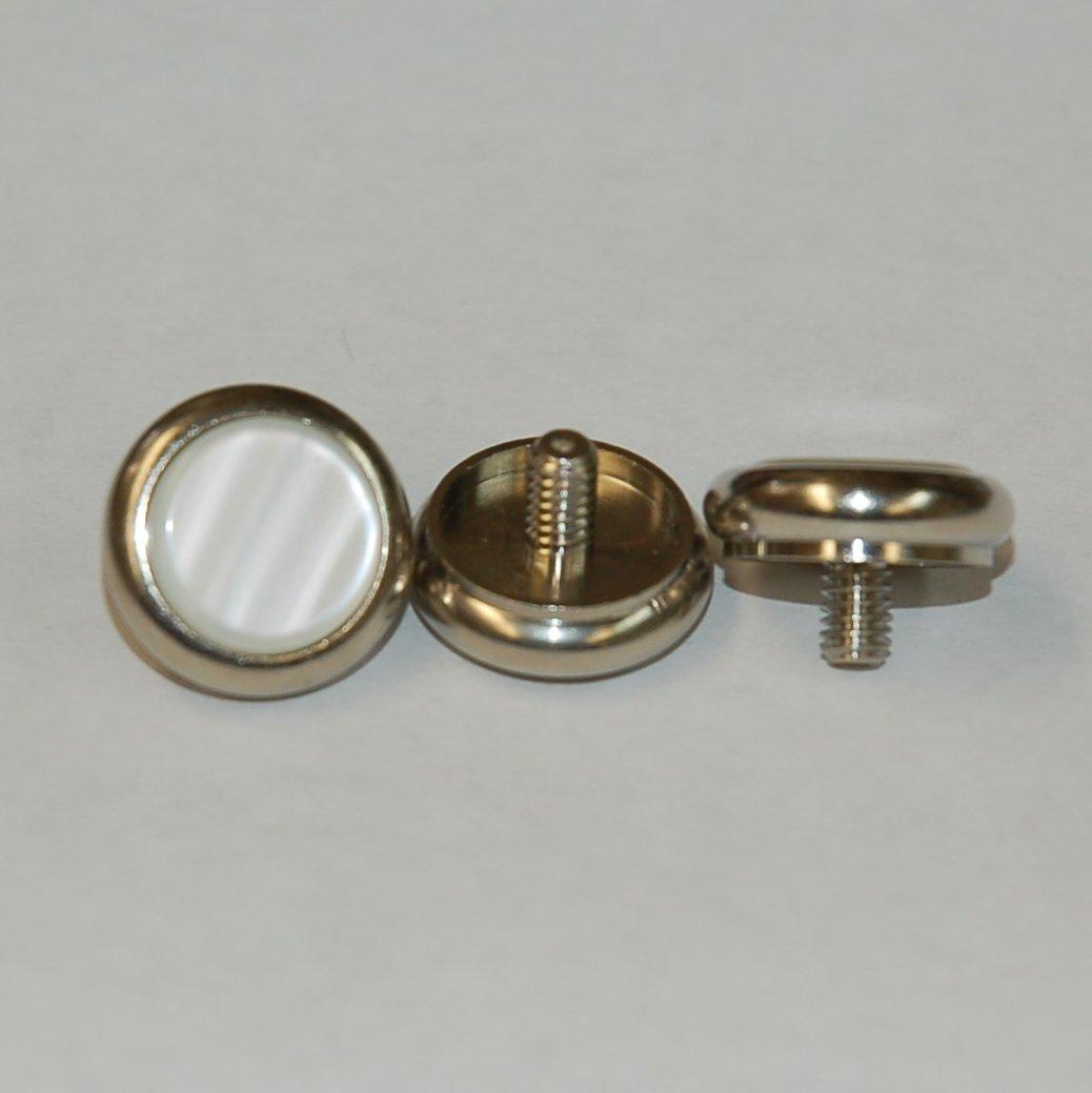 Jupiter Finger Button With Pearl - Set of 3 - Trumpet Cornet Flugelhorn Alto Horn