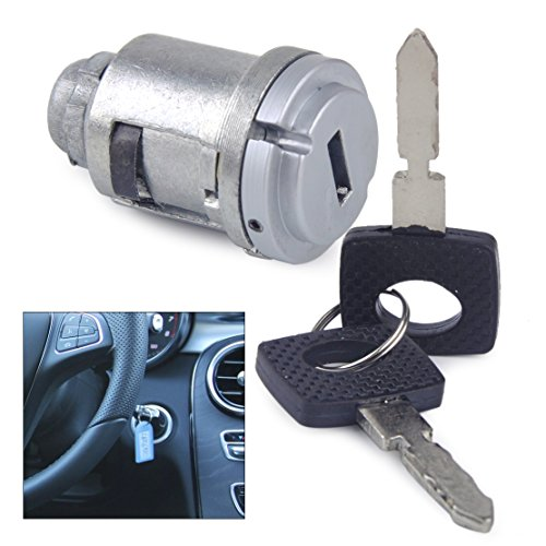 Lock Benz Ignition Mercedes - beler Car Ignition Lock Cylinder Switch with 2 Keys for Mercedes Benz W201 W124 C124 A124 S124 1264600604