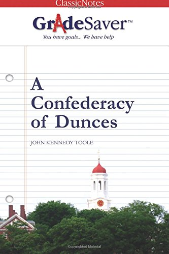 essay on a confederacy of dunces